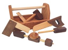 Wooden Tool Kit PERFECT gift for Tobias