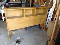 Thrifty Treasures: Headboard to storage coat rack