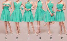 vestidos de Dama de verde vestido de Dama de honor por okbridal