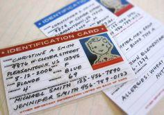 child id card