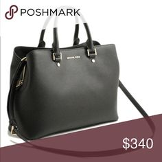 Michael Kors black purse - New with tag New with tag, savannah style purse, no marks KORS Michael Kors Bags