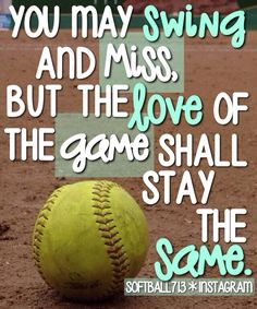 Sport Quotes For Girls Softball Truths Ideas Softball Memes, Softball Crafts, Softball Shirts, Girls Softball, Softball Players, Fastpitch Softball, Softball Stuff, Softball Sayings, Softball Problems