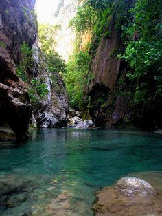 Morocco : Akchour waterfalls...