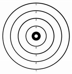 Pistol Targets Printable For 8 5x11 Targets Printable