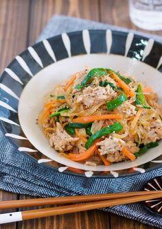 重ねて煮るだけ♪『はるさめとひき肉の和風♡煮込みチャプチェ』 by Yuu | レシピサイト「Nadia | ナディア」プロの料理を無料で検索