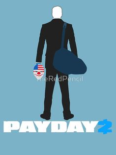 Payday 2-Dallas-White by TheRedPencil