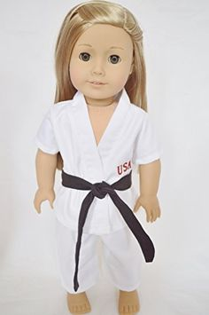 TEAM USA KARATE OUTFIT FOR AMERICAN GIRL DOLLS DollsHobbiesNmore http://www.amazon.com/dp/B00F204RVG/ref=cm_sw_r_pi_dp_H2fcwb1H4GW5H