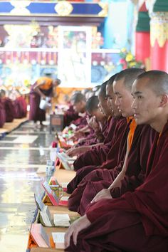 Tibetan Monastry, Coorg. India.