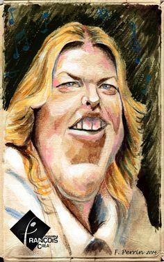 Caricature Diana Krall