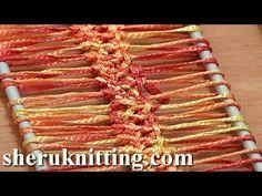 How To Crochet Hairpin Lace Braid Tutorial 13 Crochet Basic Hairpin Strip - YouTube