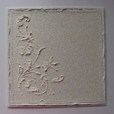 Dorota gives a photo tutorial on how to use stencils and gesso for this beautifl shabby chic effect...