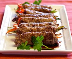 Low Carb Grill Veggie Rolls