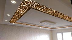 Home Room Design, Hotel Lobby Design, Elegant Living Room Design, Ceiling Decor, Tv Wall Design, False Ceiling Design, Ceiling Design, Lighting Ceiling Lamp, Suspended Ceiling Design