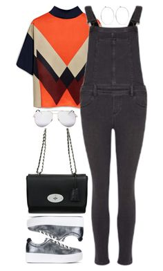 """""""Sin título #2459"""" by namelessale ❤ liked on Polyvore featuring Catbird, Mulberry, Paige Denim, Kenzo and Yves Saint Laurent"""