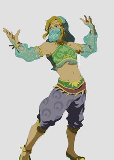 gerudo link | Tumblr<<<anyone who doesn't play the game has got to be very confused as to why Link is dressed as a woman.