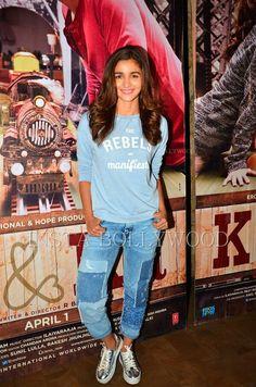 Alia Bhatt at the screening of movie Ki & Ka