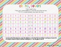 Here's a fun game for practicing basic addition facts.