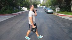 12 Loaded Carries With Kettlebells