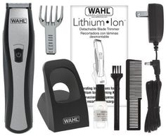 Wahl Beard  Mustache Trimmers Lithium Ion Stubble Clippers Shaving Hair Shavers #Wahl