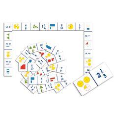 Domino Fracciones Propias E Impropias - http://www.masterwise.cl/productos/24-matematicas/125-domino-fracciones-propias-e-impropias
