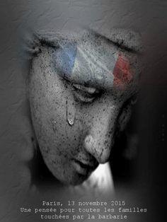 paris 13 novembre 2015, une pensée pour toutes les familles touchées par la barbarie