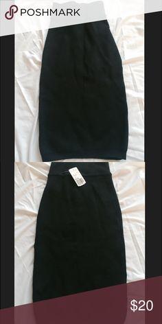 Forever 21 Dark Teal High Waisted Skirt Forever 21 Dark Teal High Waisted Skirt - Size Small - Never Worn (Will Steam Before Mailing) Forever 21 Skirts Midi