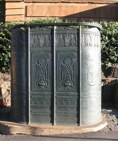 what's not to love about a cast iron Victorian urinal... functional and decorative!