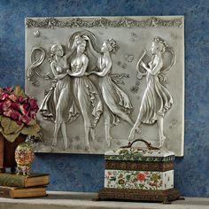 Three Graces Dancing Wall Décor