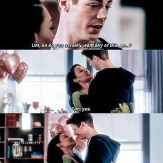 Barry and Iris <3<3<3