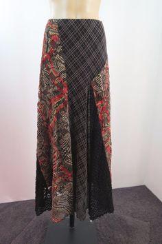Size L 14 Hot Sydney Ladies Maxi Skirt Cocktail Business Boho Chic Office Style #HotSydney #ALine