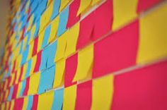 Image result for post it wall