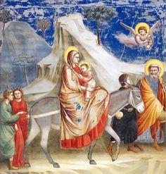 Giotto - Fuga para o Egito