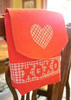 Valentines Mail Pouch Tutorial