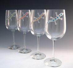 ed35f09ccbd4 Gecko Wine Glasses - Set of 2 Wine Supplies