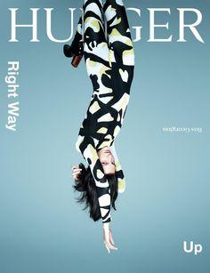 Magazine Wall - Hunger (London, UK)