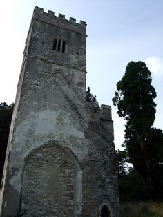 Tower of Former Church of St Mary Dartington | Britain Visitor Blog