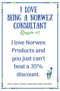So many reasons to love being a Norwex Consultant - this is just one of them!