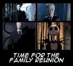 Jack is too nice to be related to Voldemort, The Silence, AND Slendy!