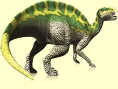 """Art illustration - Dinosaurs - Fukuisaurus: (""""Fukui lizard"""") is an extinct genus represented by a single species of dinosaur ornitópodo hadrosauroideo who lived in the early Cretaceous period, about 125 million years ago in the Barremian, in what is today Asia. He lived in what is now Japan. Jurassic World, Jurassic Park, Dinosaur Art, Dinosaur Stuffed Animal, Dinosaur Pictures, Prehistoric Creatures, Crocodiles, Natural History, Mammals"""