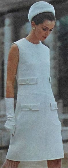 Vogue 1961.....put on 3/4 sleeves
