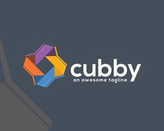 Cubby Logo Template Logo design - This logo is recommended for technology companies. suitable for software, agency, web, studio, and others. Price $300.00