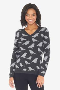 Bird Pullover Sweater
