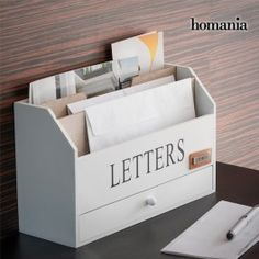 organizador de cartas Decoration, Toy Chest, Storage Chest, Magazine Rack, Sweet Home, Cabinet, Toys, Furniture, Home Decor