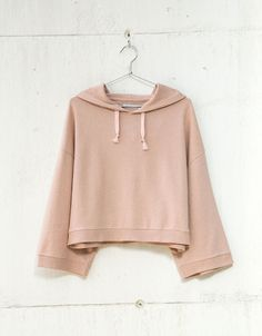 Hooded sweatshirt - Woman - Bershka Turkey