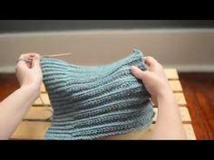 SpindleShuttleNeedle: Slip Stitch Crochet Ribbing
