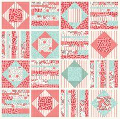Quilt design for Verona fabric