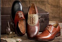 I love a saddle shoe.  There is always something cool and fun about the color contrast.