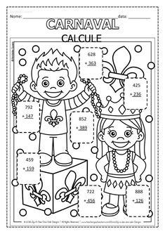 Carnival, Poetry Activities, Reading Activities, Literacy Activities, Name Badge Template, Fourth Grade, Classroom, School, Exercises