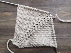 zerlumpte Linie – ВЯЖЕМ СПИЦАМИ КРАСИВУЮ АККУРАТНУ… – Awesome Knitting Ideas and Newest Knitting Models Beginner Knitting Patterns, Knitting Videos, Knitting For Beginners, Baby Knitting Patterns, Knitting Stitches, Knitting Designs, Knitting Wool, Diy Crafts Knitting, Diy Crafts Crochet