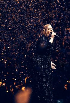 Adele performs at The O2 Arena | 4/15/16.